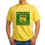 Partridge in a Pear Tree Yellow T-Shirt