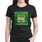 Partridge in a Pear Tree Women's Dark T-Shirt