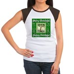 Partridge in a Pear Tree Women's Cap Sleeve T-Shir