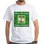 Partridge in a Pear Tree White T-Shirt