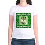 Partridge in a Pear Tree Jr. Ringer T-Shirt