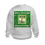 Partridge in a Pear Tree Kids Sweatshirt