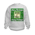 Partridge in a Pear Tree Kids Sweatshirt