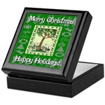 Partridge in a Pear Tree Keepsake Box