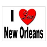 I Love New Orleans Small Poster