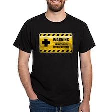 Warning Ski Patroller T-Shirt