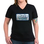 WDW Today Women's V-Neck Dark T-Shirt