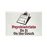 Funny Doctor Psychiatrist Rectangle Magnet (10 pac