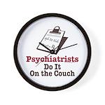 Funny Doctor Psychiatrist Wall Clock
