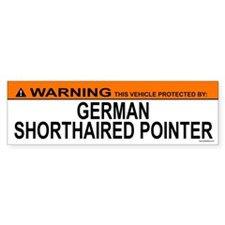 GERMAN SHORTHAIRED POINTER Bumper Bumper Sticker
