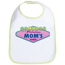 I Eat at Moms Bib