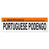 PORTUGUESE PODENGO Bumper Car Sticker