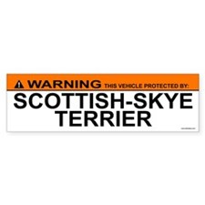 SCOTTISH-SKYE TERRIER Bumper Bumper Sticker