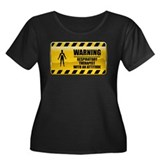 Warning Respiratory Therapist Women's Plus Size Sc