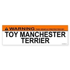 TOY MANCHESTER TERRIER Bumper Bumper Sticker