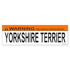 YORKSHIRE TERRIER Bumper Bumper Sticker