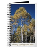 Towering Quaking Aspen Trees - Journal
