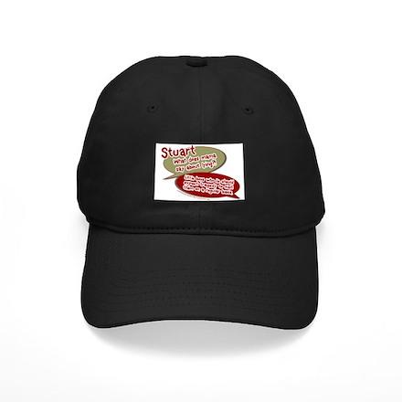 Stuart - What does mommy say. Black Cap