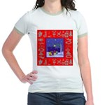 Carolers Jr. Ringer T-Shirt