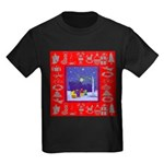 Carolers Kids Dark T-Shirt