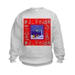 Carolers Kids Sweatshirt
