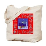 Carolers Tote Bag