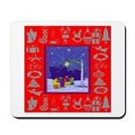 Carolers Mousepad