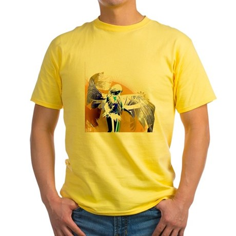 Golden Angel Art Yellow T-Shirt