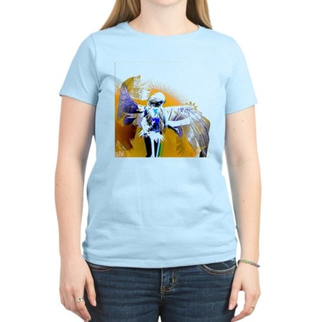 Golden Angel Art Women's Light T-Shirt