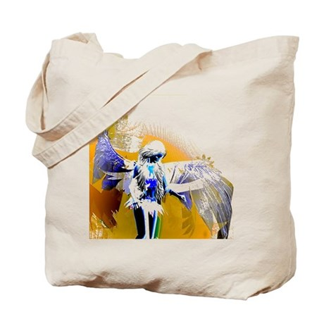 Golden Angel Art Tote Bag