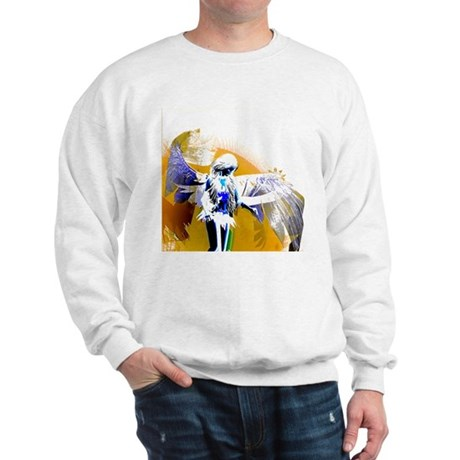 Golden Angel Art Sweatshirt