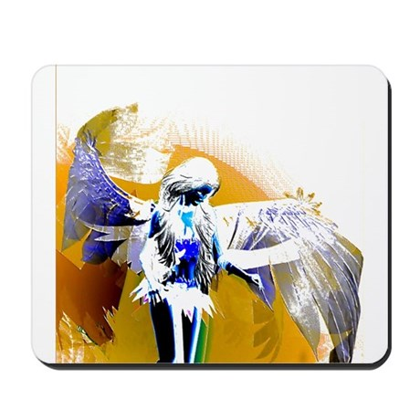 Golden Angel Art Mousepad