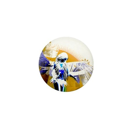 Golden Angel Art Mini Button (100 pack)