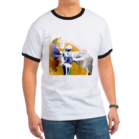 Golden Angel Art Ringer T