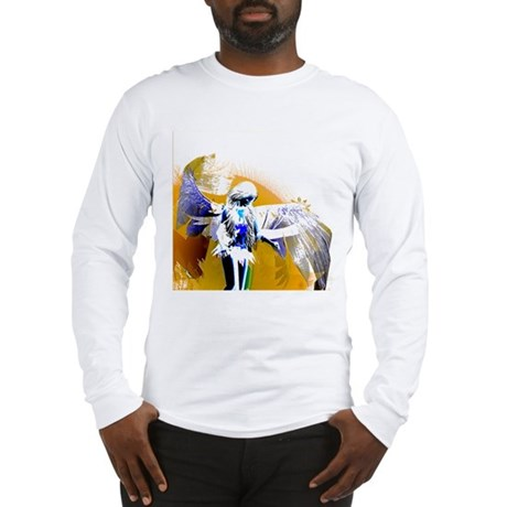 Golden Angel Art Long Sleeve T-Shirt