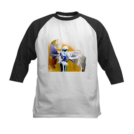 Golden Angel Art Kids Baseball Jersey