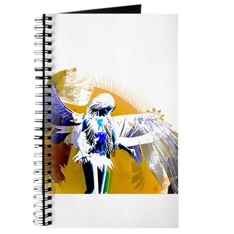 Golden Angel Art Journal