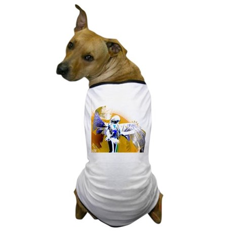 Golden Angel Art Dog T-Shirt