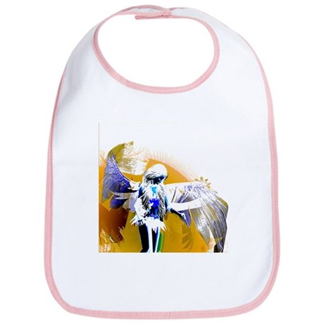 Golden Angel Art Bib