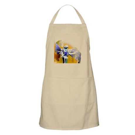 Golden Angel Art BBQ Apron