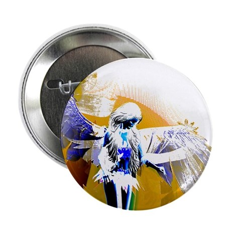 "Golden Angel Art 2.25"" Button"