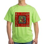 Adoration of Chr Green T-Shirt