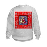 Adoration of Chr Kids Sweatshirt