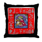 Adoration of Chr Throw Pillow