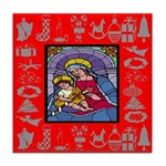Adoration of Chr Tile Coaster