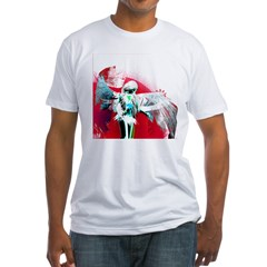 Red Angel Art Fitted T-Shirt