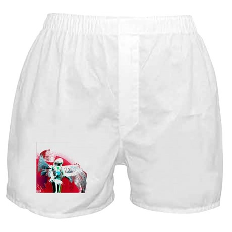Red Angel Art Boxer Shorts