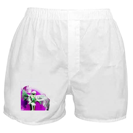 Purple Angel Art Boxer Shorts