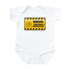 Warning Neuroscientist Infant Bodysuit