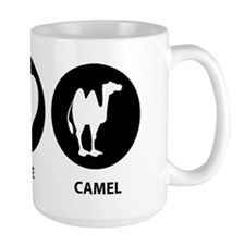 Peace Love Camel Mug